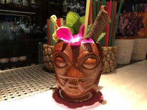 Bourbon Special Drink at Three Dots and a Dash