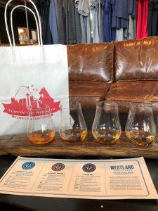 Westland Whiskey Tasting