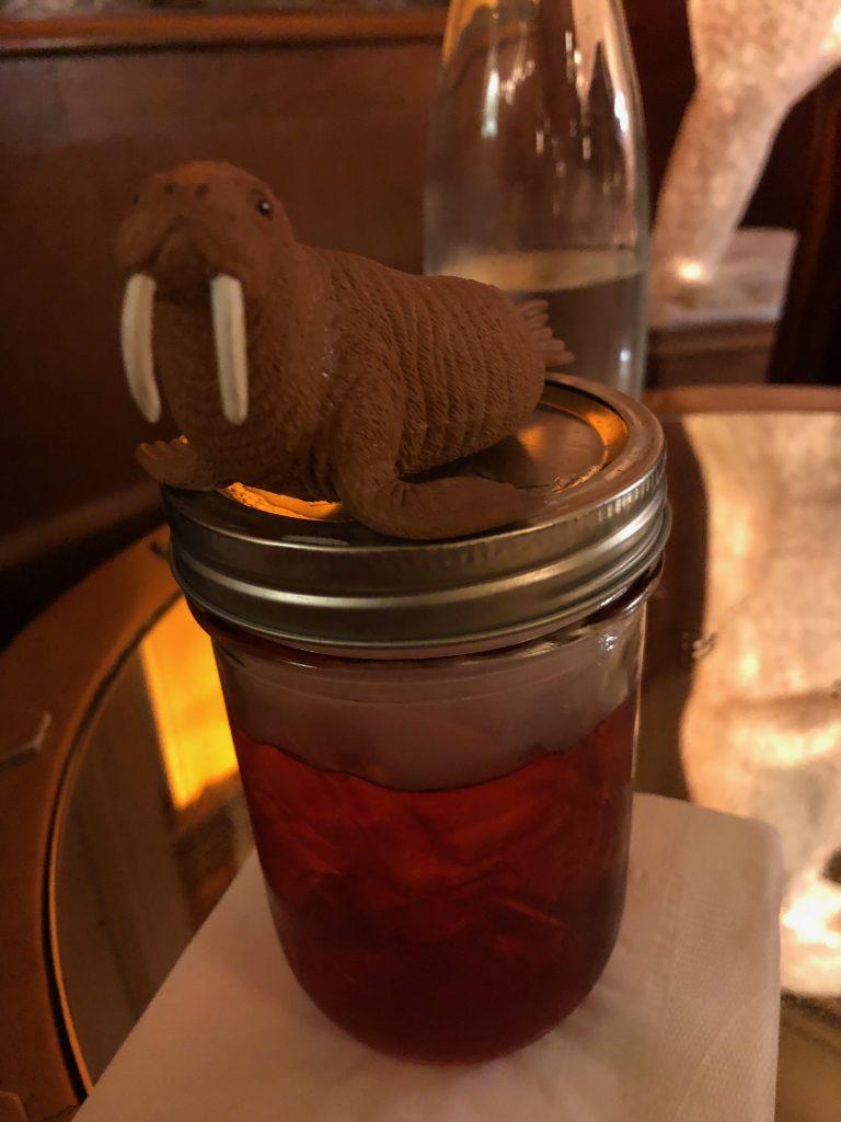 I Am the Walrus at the Polar Bar
