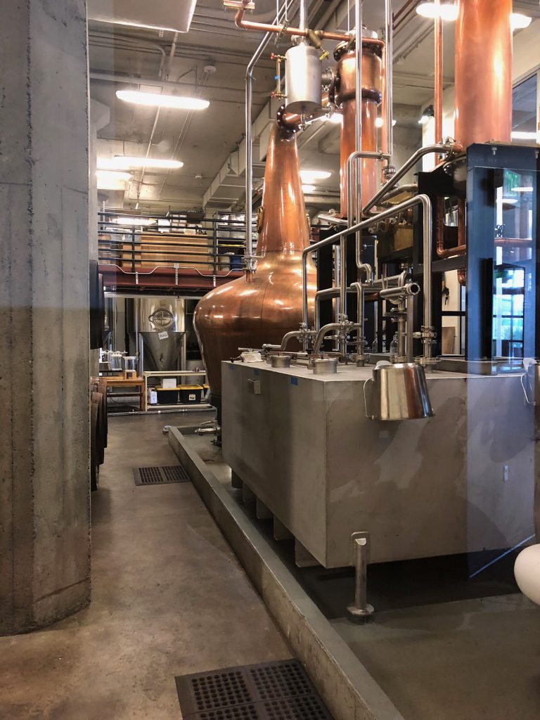 Copperworks Distilling Tour Still