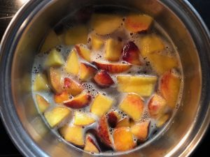 Peach Simple Syrup Recipe
